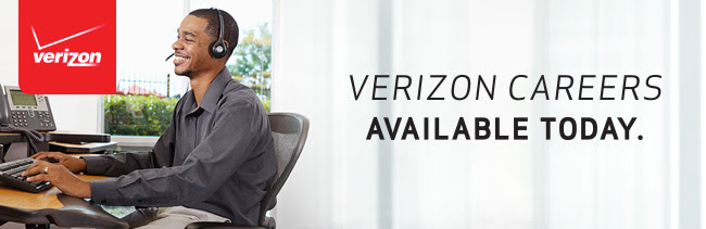 Verizon careers available today.