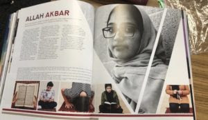 "California: Public high school yearbook has lavish two-page Islam presentation entitled ""ALLAH AKBAR"""