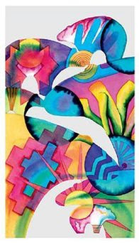 tribal behavioral health agenda cover - abstract watercolor artwork