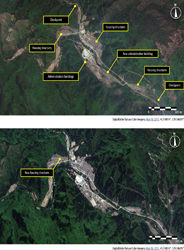 Political Prison Camp No. 16, Myonggan, NorthHamgyong – main administrative areaAnalysis courtesy of Amnesty International /