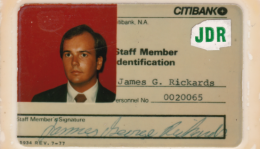 Jim Rickards ID Card