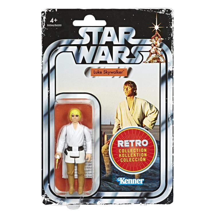 Image of Star Wars The Retro Collection Action Figures Wave 1 - Luke Skywalker