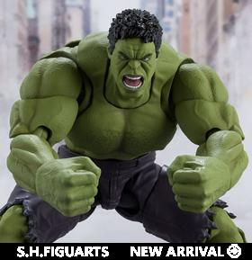 The Avengers S.H.Figuarts Hulk (Avengers Assemble Edition)