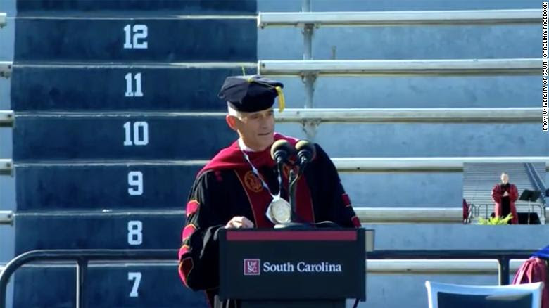 This university president is forced to resign after plagiarizing a speech