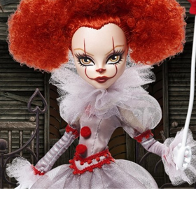IT Chapter 2 Monster High Skullector Pennywise Doll