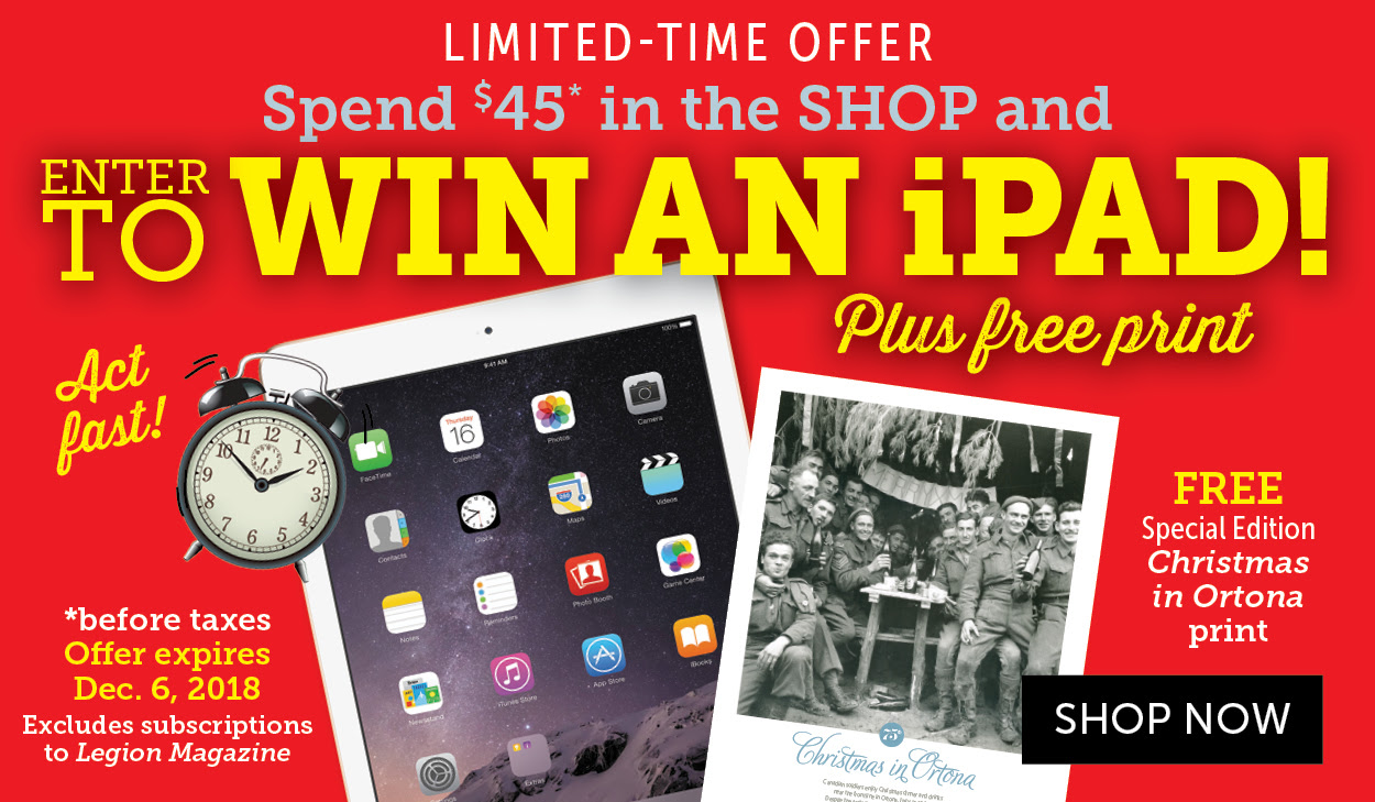 Win an iPad and Free Christmas in Ortona Print!