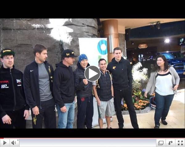 Ruslan Provodnikov arrives at Turning Stone Resort Casino 041515