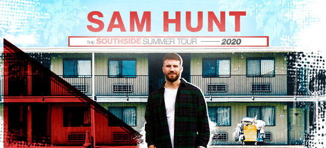 Sam Hunt: The Southside Summer Tour 2020