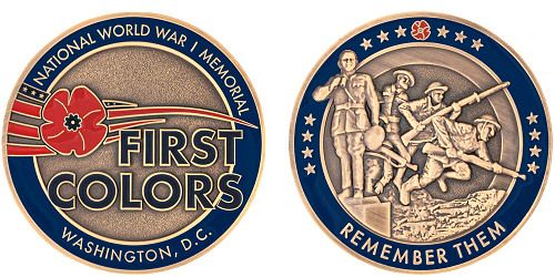 First Colors Commemorative Coin 500