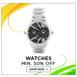 Watches | Minimum 50% Off