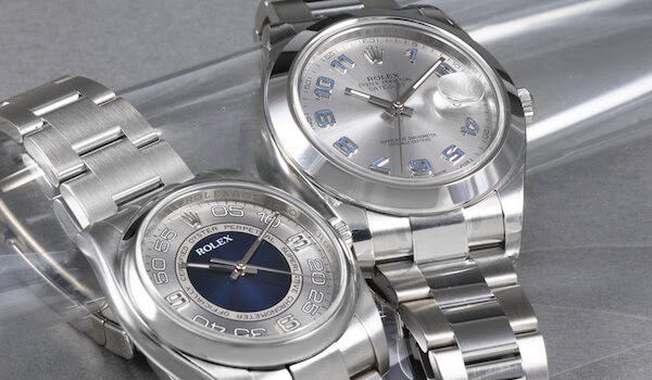 Rolex Blue Watches