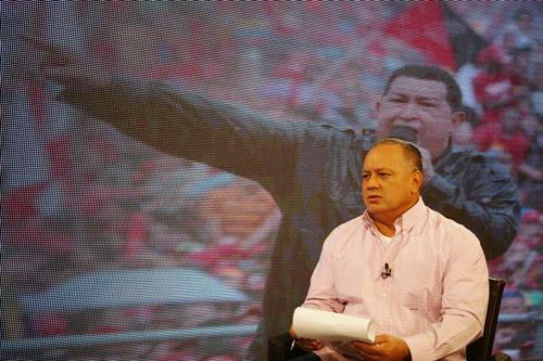 """Diputado Diosdado Cabello en su programa """"Con el Mazo Dando"""" por VTV"""