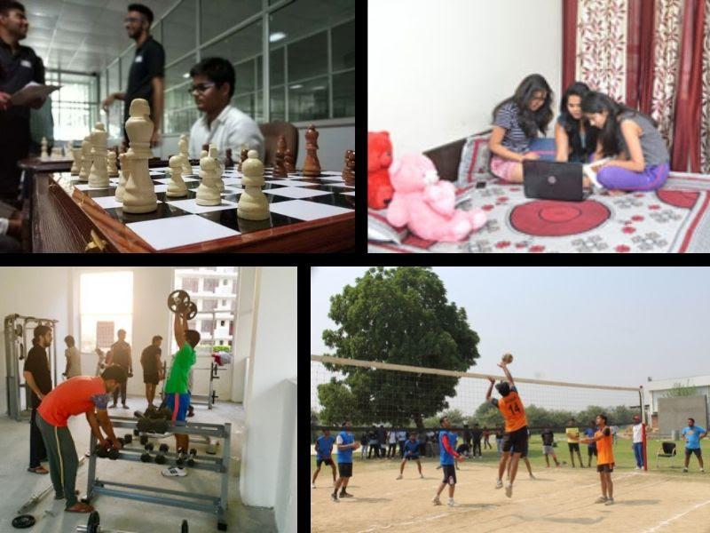 SRM University facilities
