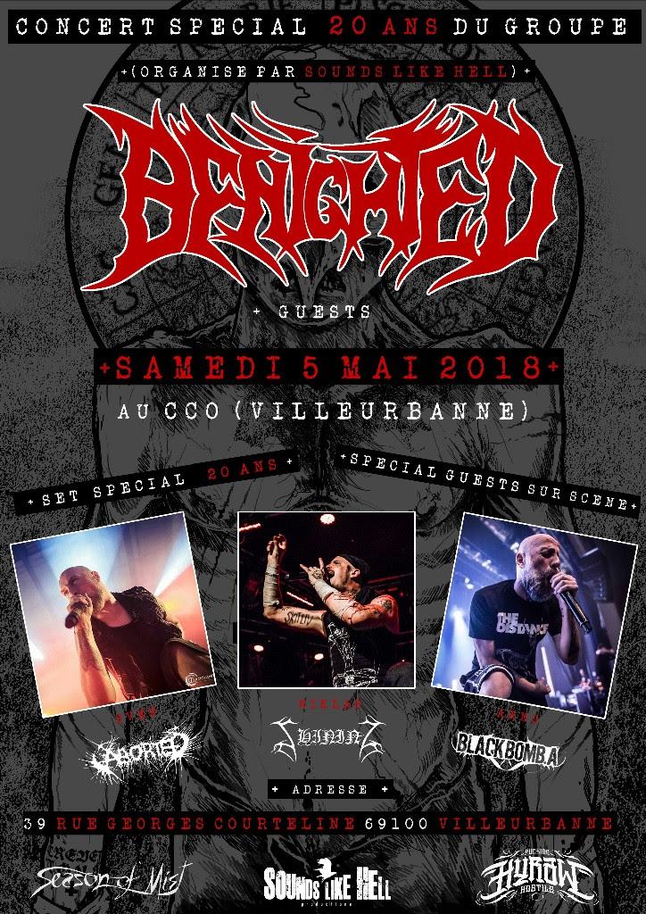BENIGHTED poster Anniversary