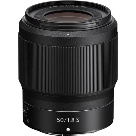 NIKKOR Z 50mm f/1.8 S Lens for Z Series Mirrorless Cameras