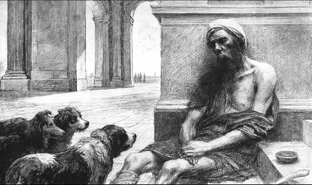 Znalezione obrazy dla zapytania ewangelia o bogaczu i łazarzu