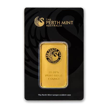 Perth Mint 1 oz bar