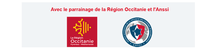 Avec le parrainage de la Région Occitanie et l'Anssi
