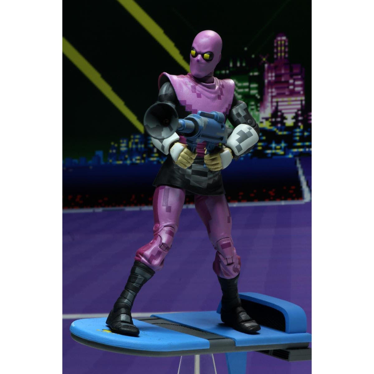 """Image of TMNT: Turtles in Time - 7"""" Scale Action Figures - Foot Soldier - BACKORDERED APRIL 2020"""
