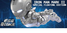 EGG ATTACK EA-008 - IRON MAN MARK II SPECIAL FLOATING EDITION
