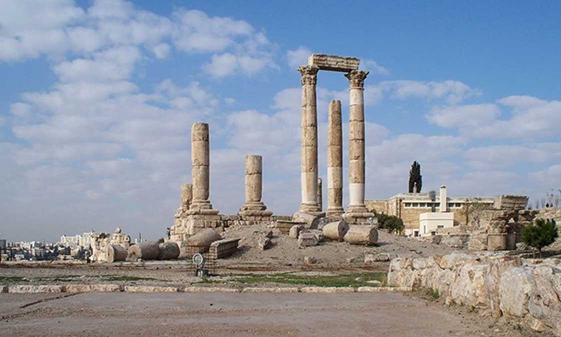 Ruinas del Templo de Hércules, Ammán (Jordania)