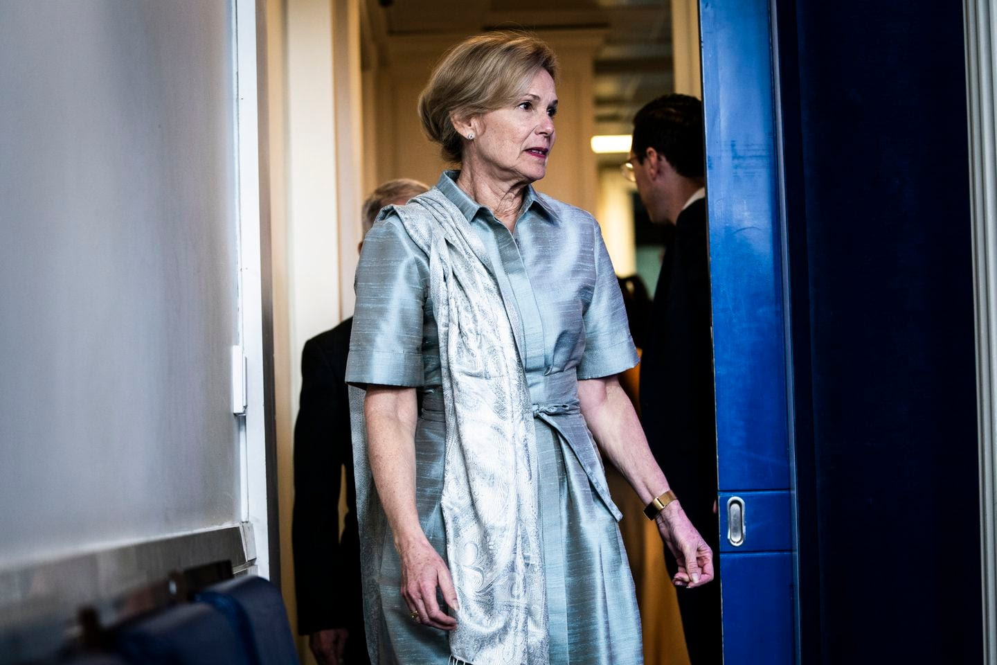 Of course you've noticed Deborah Birx's style. That's why it's so reassuring.