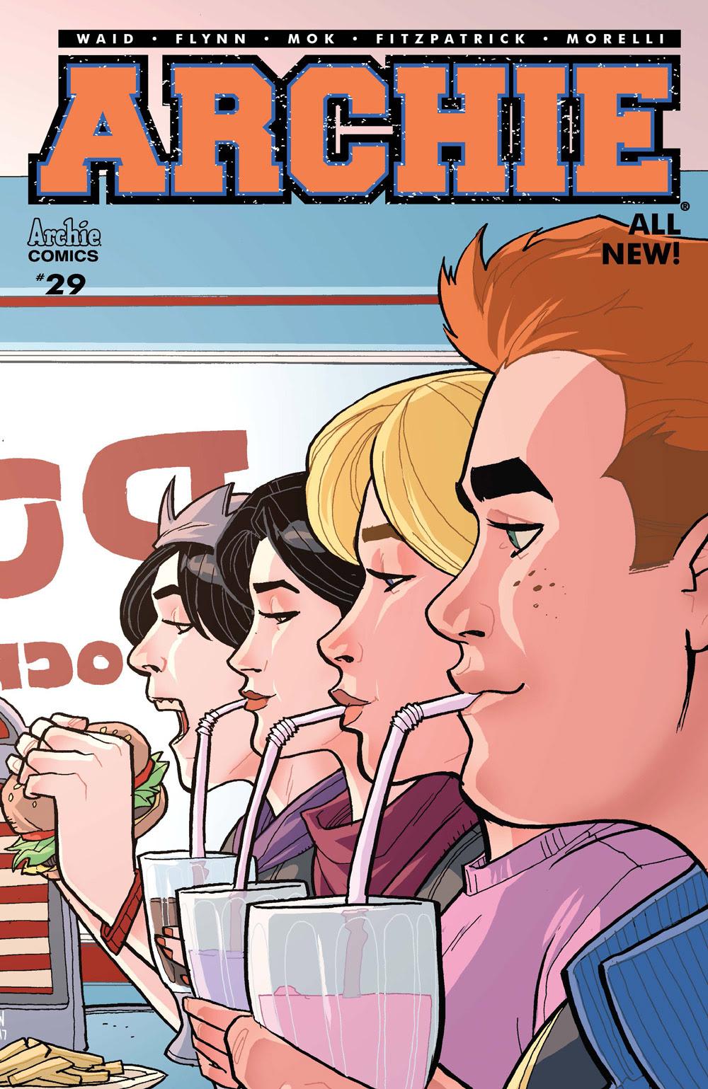 Archie #29 CVR B: Woods Milkshakes