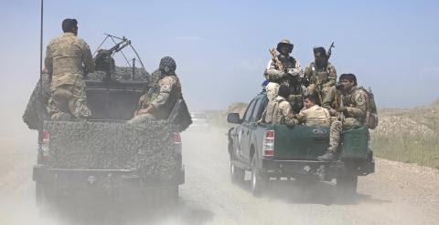 Militares afganos en la ciudad de Kunduz, hace unos días. REUTERS/Omar Sobhani