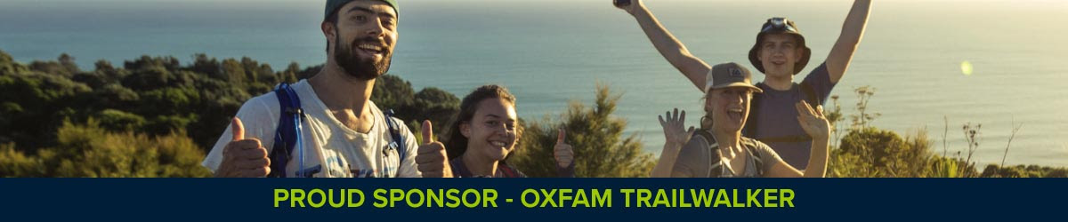 Bivouac Outdoor is a Proud Sponsor of the Oxfam Trailwalker Event