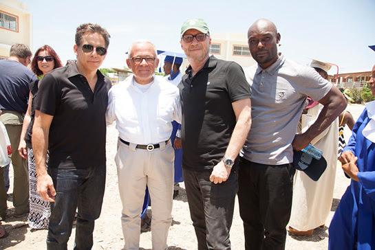 Ben Stiller, BOVET Owner Pascal Raffy, Director Paul Haggis, and Jimmy Jean-Louis