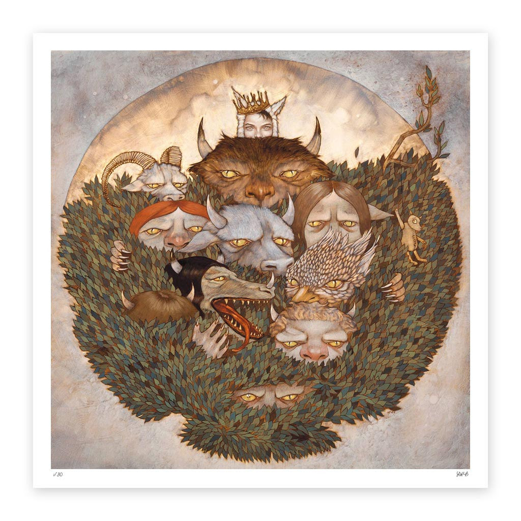 Where the Wild Things Are<br/>Fine Art Print