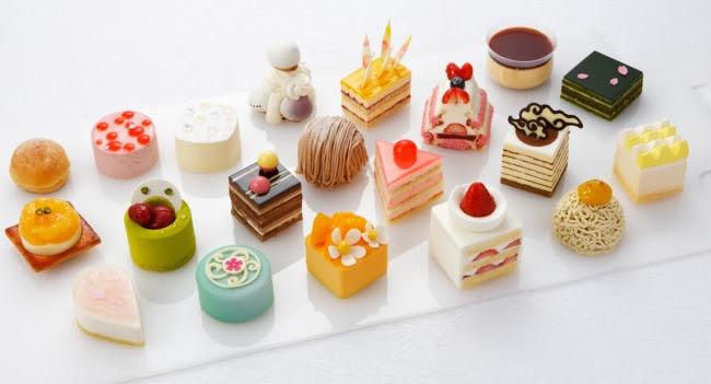京都北山マールブランシュ 春のケーキ