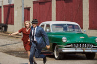 "A scene from ""11.22.63"" with Sarah Gadon and James Franco, an original series on Hulu. The streaming service is working to bundle broadcast and cable channels."