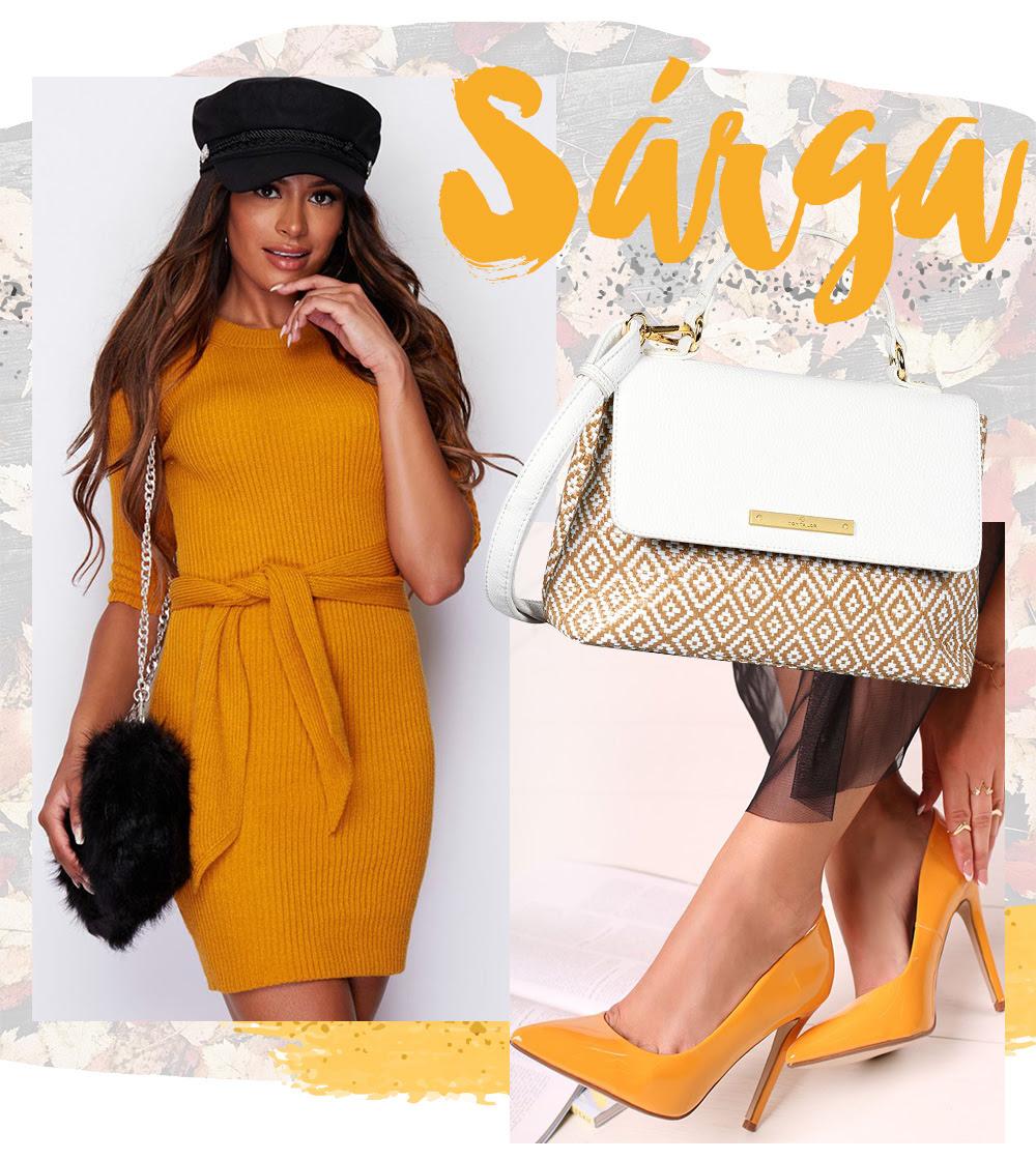Őszi divatszínek - Sárga