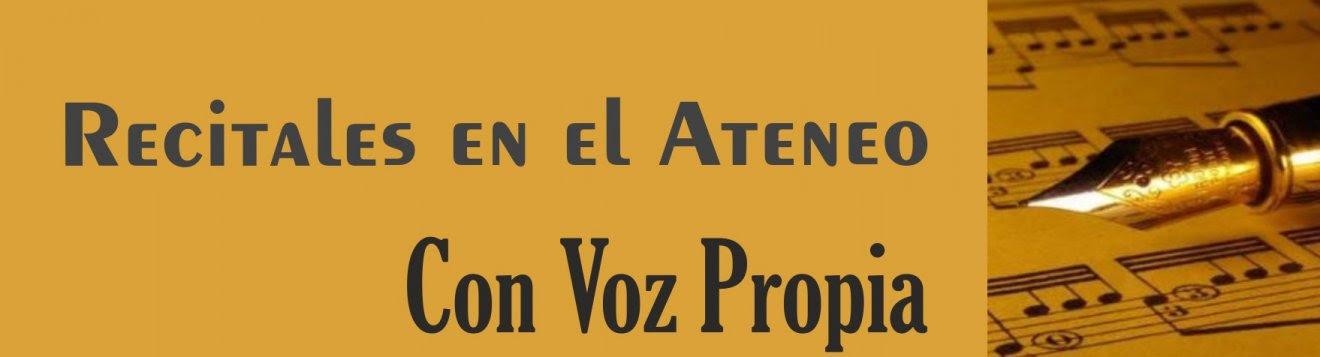 171103 Recitais no Ateneo - con voz propia - vertical