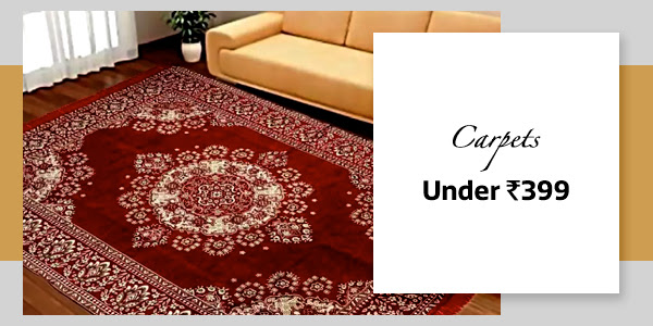 Carpets under Rs.399