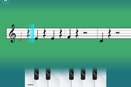 SimplyPiano is a piano trainer app for younger learners.