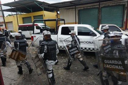 El consultor en seguridad dijo que la Guardia Nacional ha fracasado, pues no ha disminuido los índices de inseguridad (Foto: Juan Manuel Blanco/ EFE)