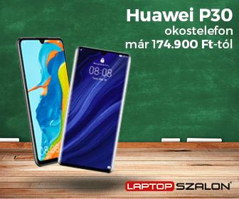 Iskolakezdési ajánlatok - Huawei P30 128GB 6GB