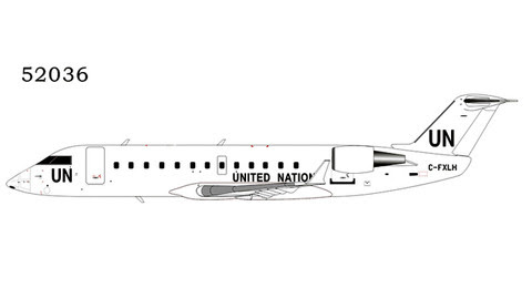 NG52036 | NG Model 1:200 | Bombardier CRJ-200LR United Nations C-FXLH | is due: July 2020