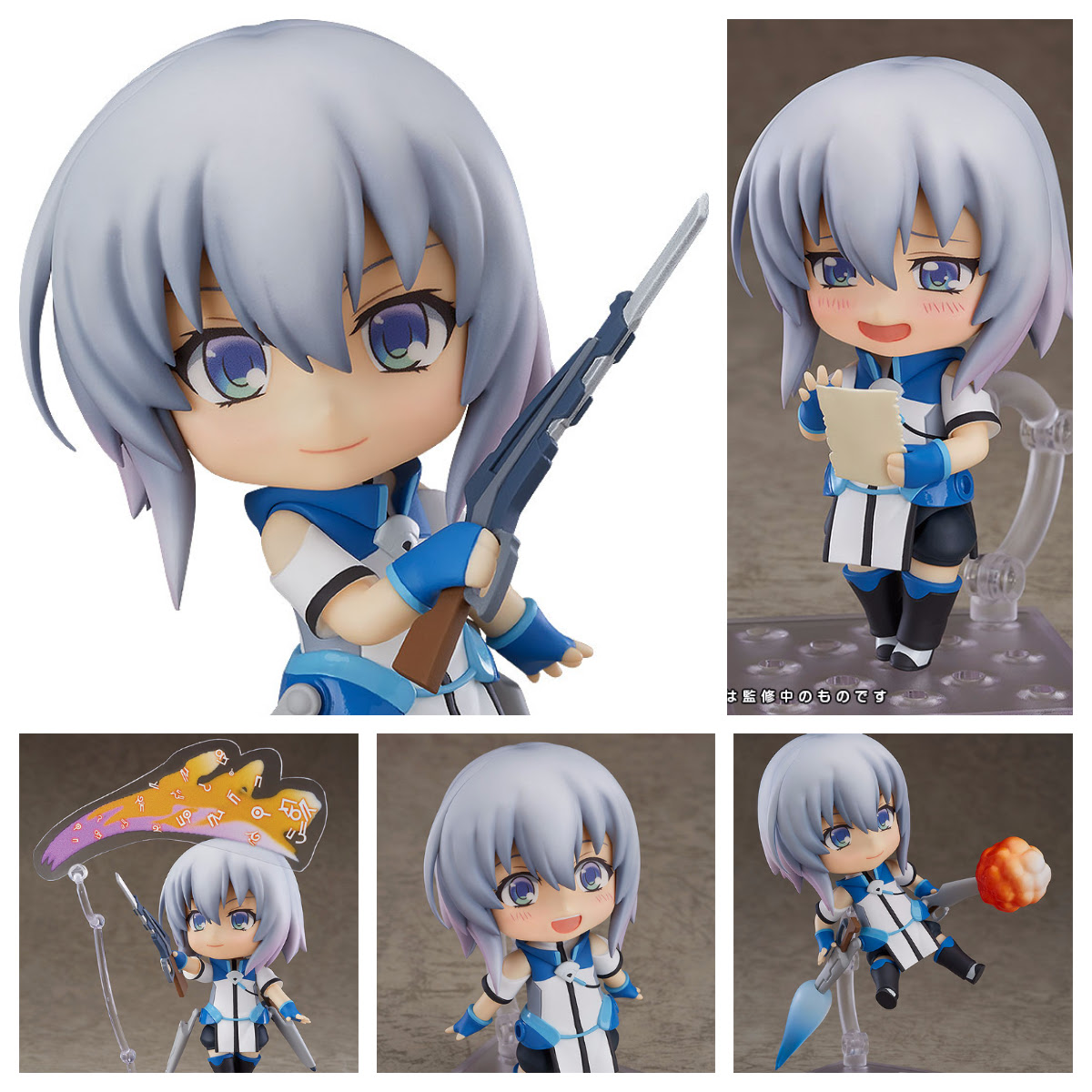 ERNESTI ECHAVALIER FIGURA 10 CM KNIGHT'S & MAGIC NENDOROID