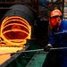 A steel plant in Zouping, China. Propelled by China, the United States, Europe and Japan, global economic growth is on track to reach an annual rate of 3.9 percent this year and next, the International Monetary Fund said Tuesday.