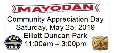Mayodan Community Appreciation Day