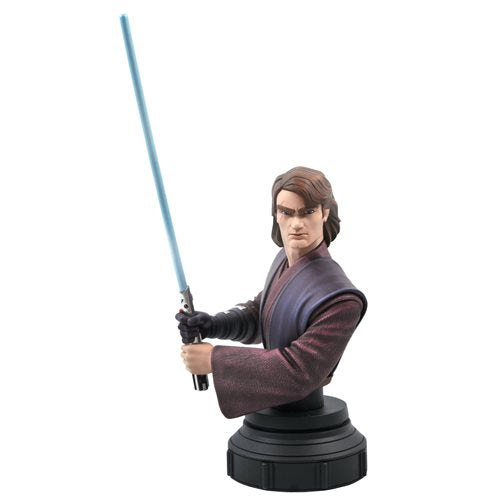 Image of Star Wars Clone Wars Anakin Skywalker 1:7 Scale Bust - JANUARY 2021