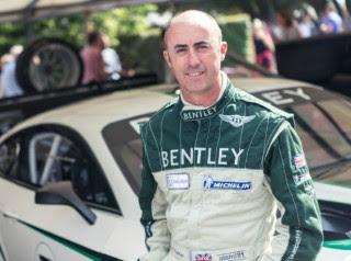 Brabham climbs into Fabrizio Giovanardi's St Mary's seat