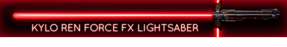 STAR WARS EPISODE VII FX LIGHTSABERS