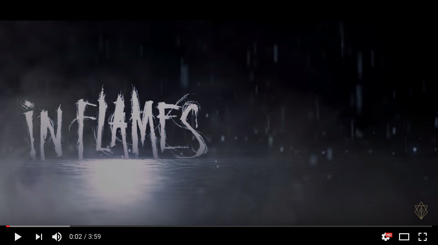"""In Flames - """"The End"""" Lyric Video"""