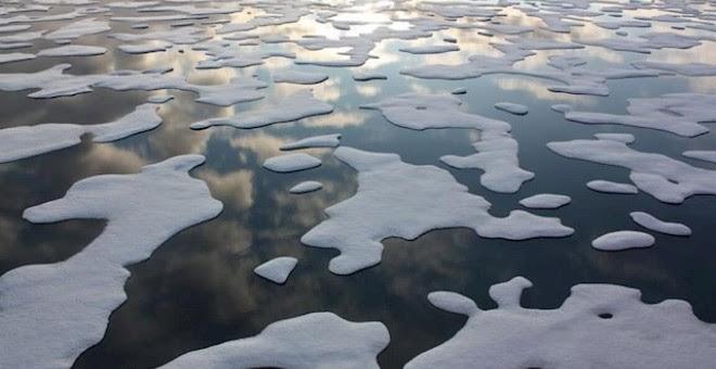 Imagen de archivo del Océanio Ártico. NASA