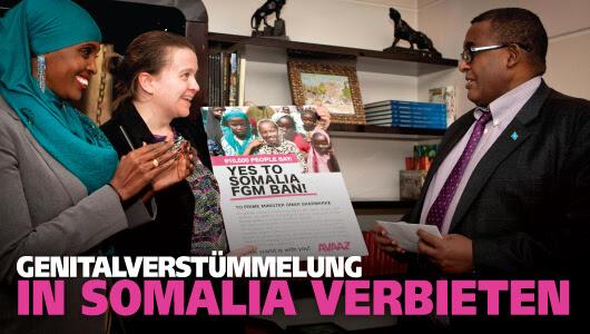 Verbot von Genitalverstümmelung in Somalia