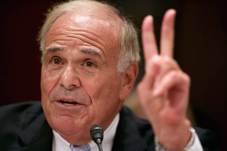 Ed Rendell speaks on Capitol Hill. (Chip Somodevilla/Getty Images)